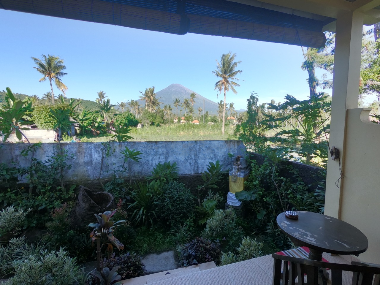 Bungalow vue Agung, Amed